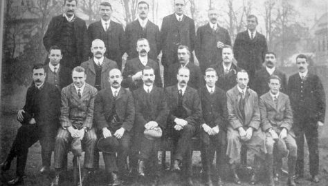 Old Players and Officials, 1909