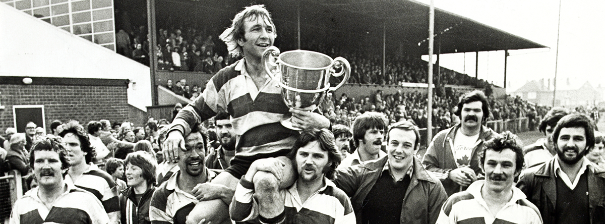 Banner: Gloucester Rugby Club 1978 cupwinners