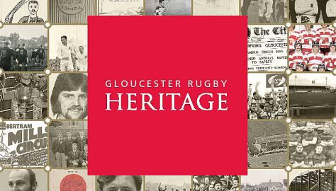 Gloucester Rugby Heritage - The Book.