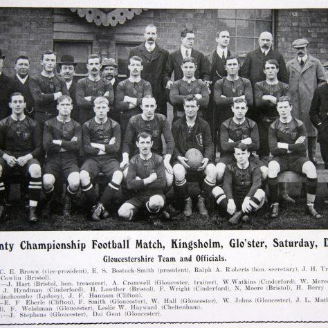 Gloucestershire 1908-09