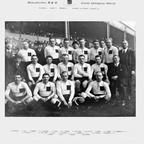 Gloucestershire 1921-22