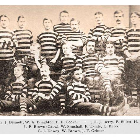 1876 - 1877 Team (we think)
