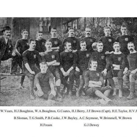 1882 - 1883 Team
