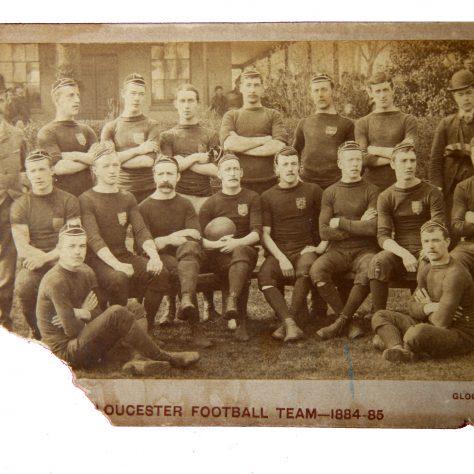 1884 - 1885 Team