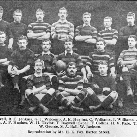1890 - 1891 Team