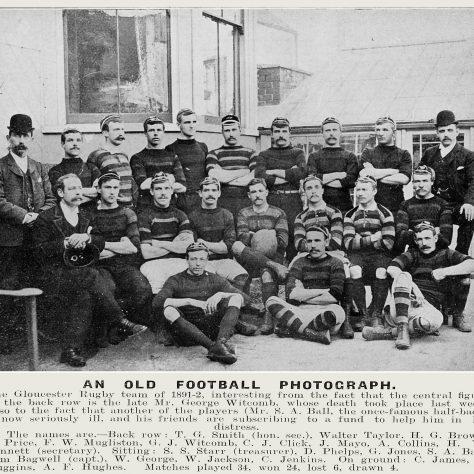 1891 - 1892 Team