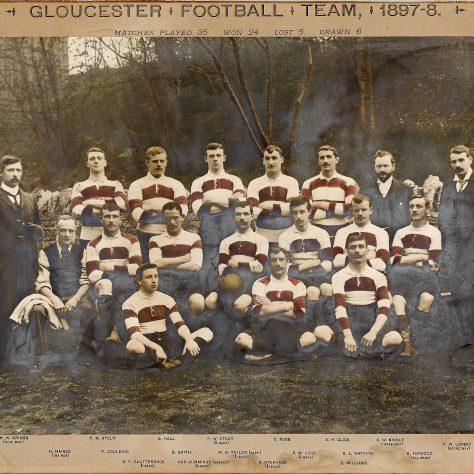 1897 - 1898 Team