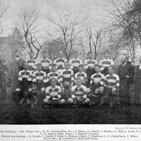 1900 - 1901 Team