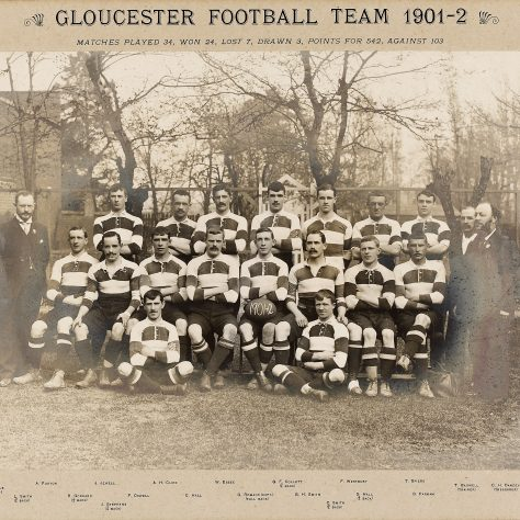 1901 - 1902 Team