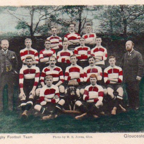 1902 - 1903 Team (Colourised)
