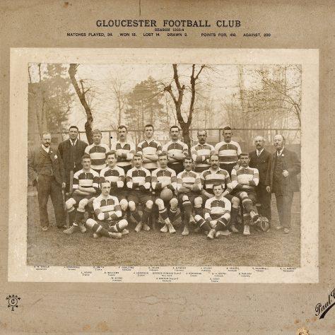 1903 - 1904 Team