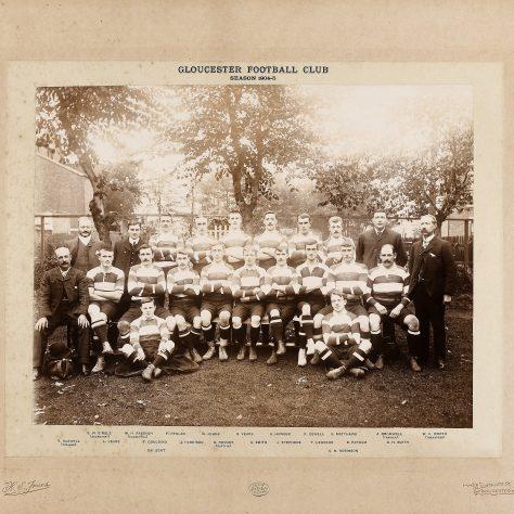 1904 - 1905 Team