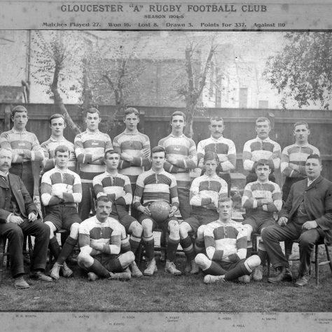 1904 - 1905 A Team