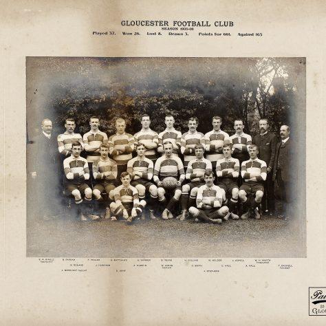1905 - 1906 Team