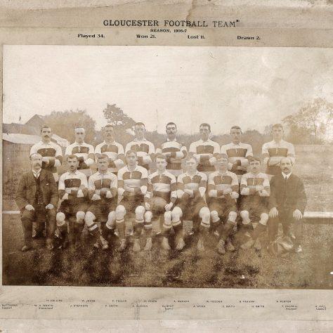 1906 - 1907 Team