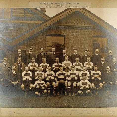 1907 - 1908 Team