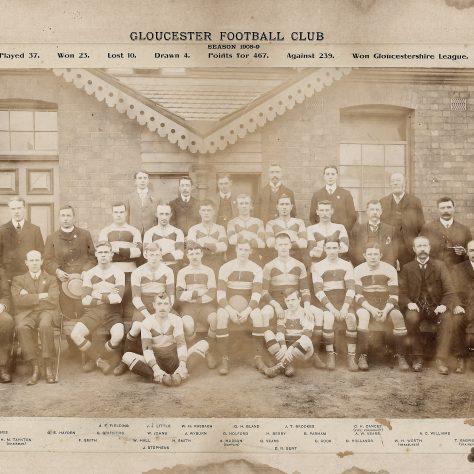 1908 - 1909 Team