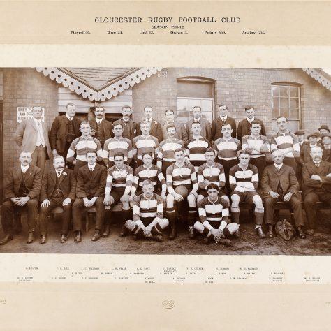 1911 - 1912 Team