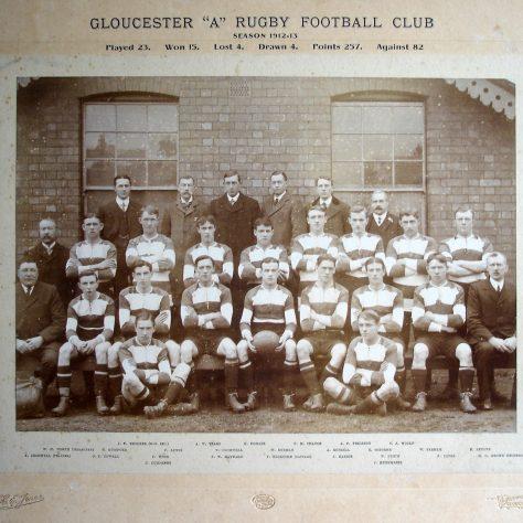 1912 - 1913 A Team