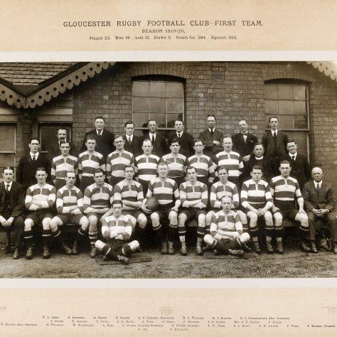 1919 - 1920 Team