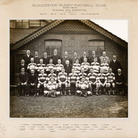 1920 - 1921 Team