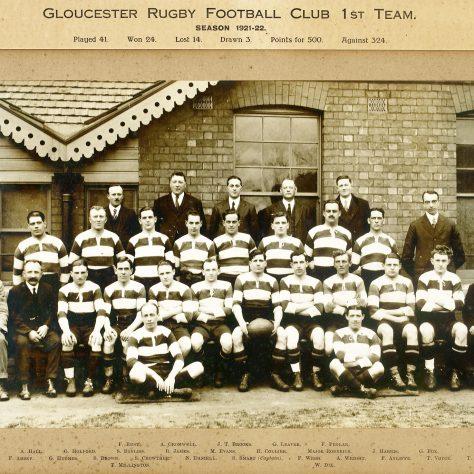 1921 - 1922 Team