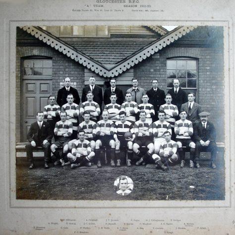 1921 - 1922 A Team