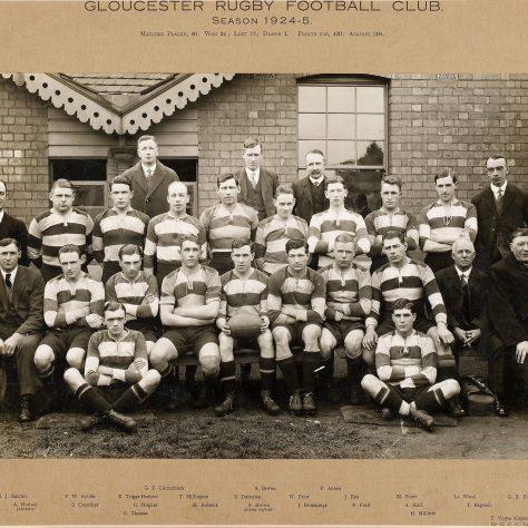 1924 - 1925 Team
