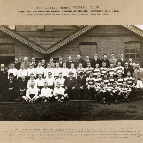1924 - 1925  Jubilee Celebration Match Teams
