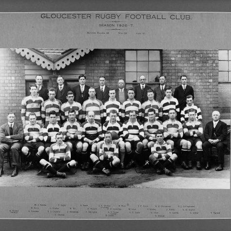 1926 - 1927 Team