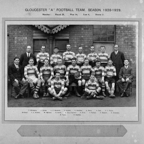 1928 - 1929 A Team