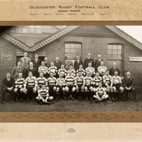 1929 - 1930 Team