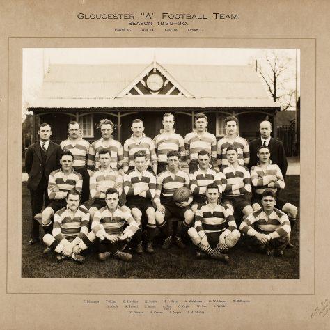 1929 - 1930 A Team