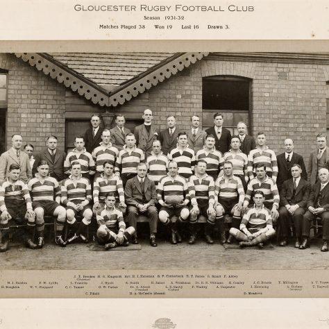1931 - 1932 Team
