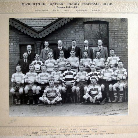 1931 - 1932 United Team