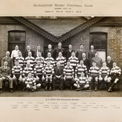 1933 - 1934 Team