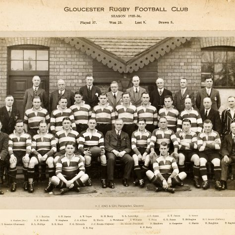 1935 - 1936 Team