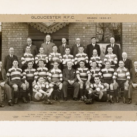 1936 - 1937 Team