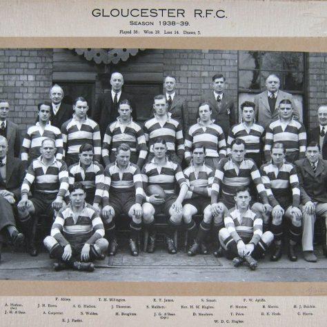 1938 - 1939 Team
