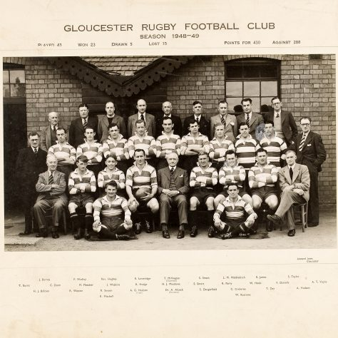 1948 - 1949 Team