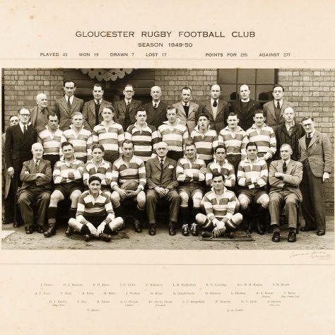 1949 - 1950 Team