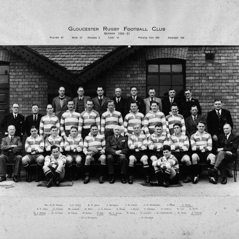 1950 - 1951 Team