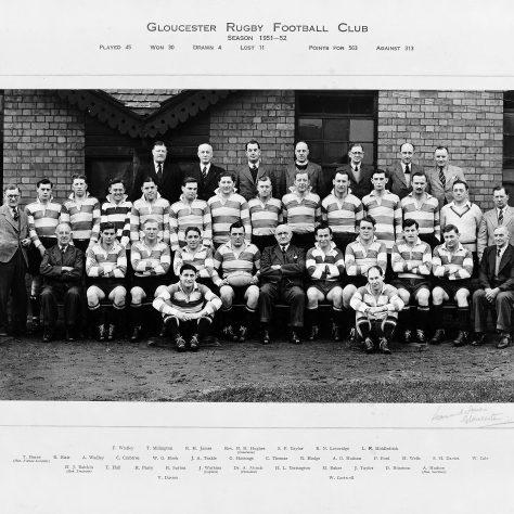 1951 - 1952 Team