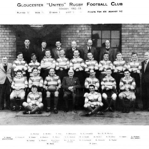 1952 - 1953 United Team