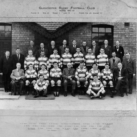 1952 - 1953 Team