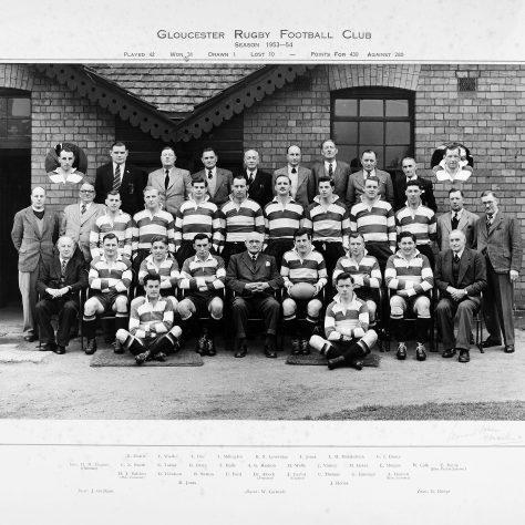 1953 - 1954 Team