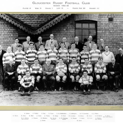 1954 - 1955 Team