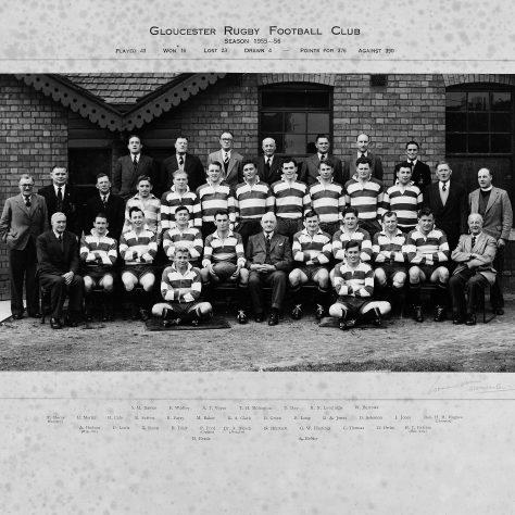 1955 - 1956 Team