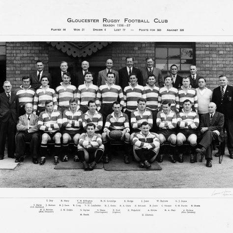 1956 - 1957 Team