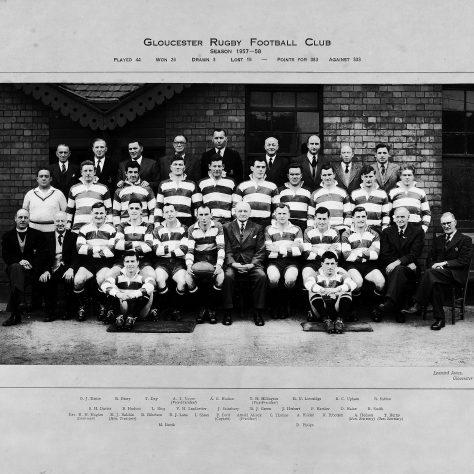 1957 - 1958 Team